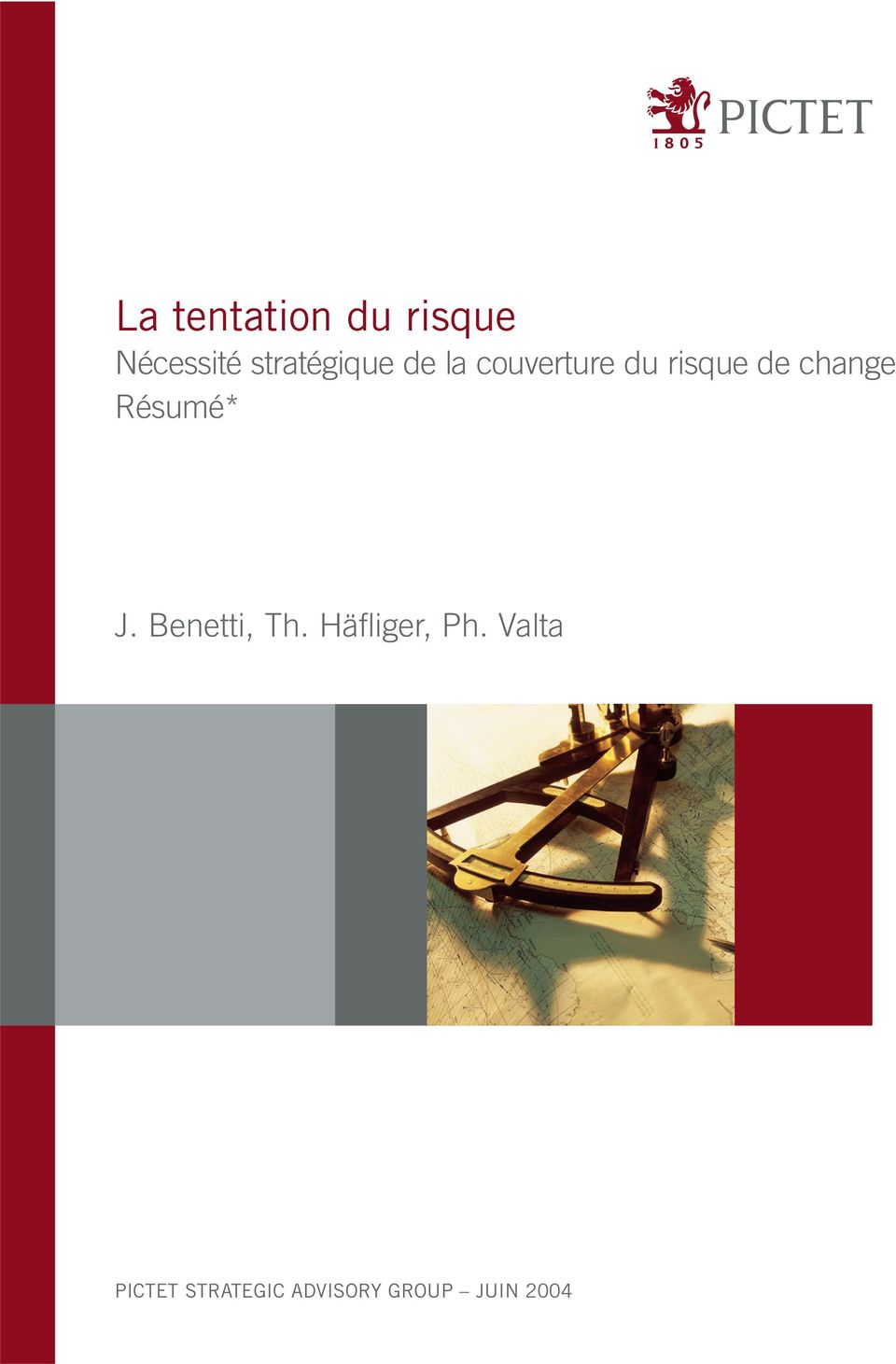 change Résumé* J. Benetti, Th.