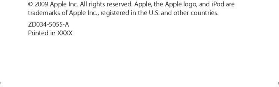 trademarks of Apple Inc.