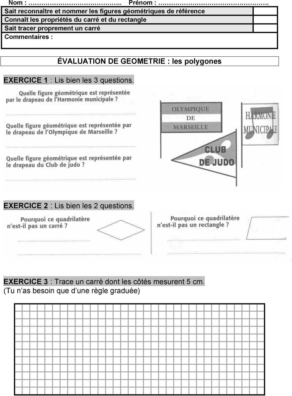 perpendiculaire ce2 exercices
