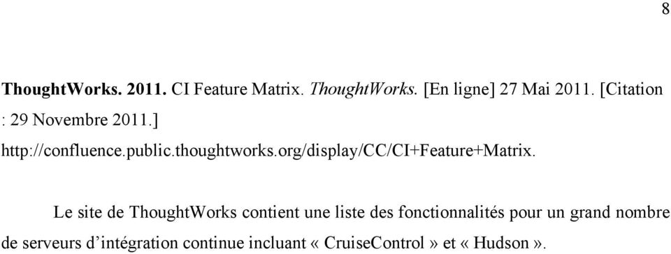 org/display/cc/ci+feature+matrix.