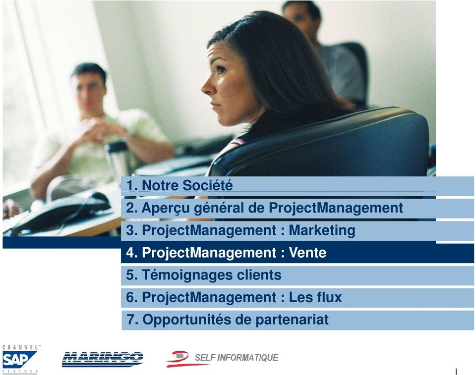 ProjectManagement : Marketing 4.