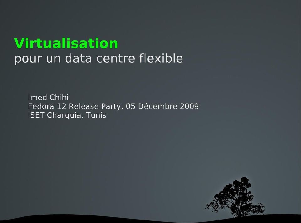 Fedora 12 Release Party, 05
