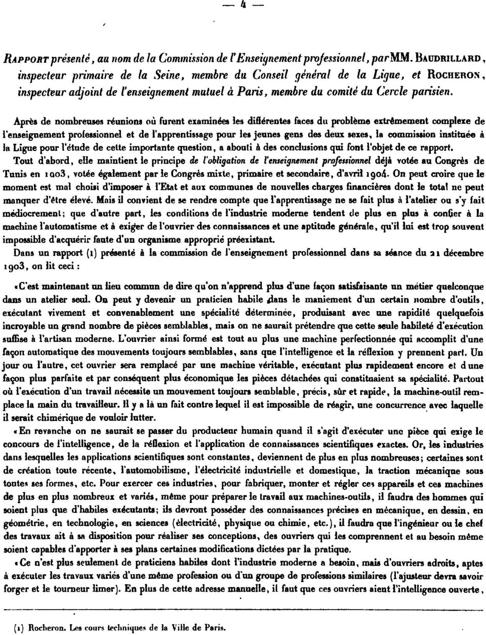 gens s ux sexes la commission institaée à la Ligue l'étu celte importante question a abouli à s conclusions qui font l'objet ce rapport Tout d'abord elle maintient le principe l'obligation