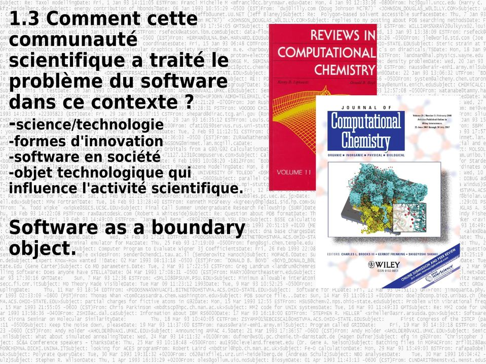 -science/technologie -formes d'innovation -software en