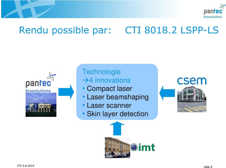 innovations Compact laser Laser