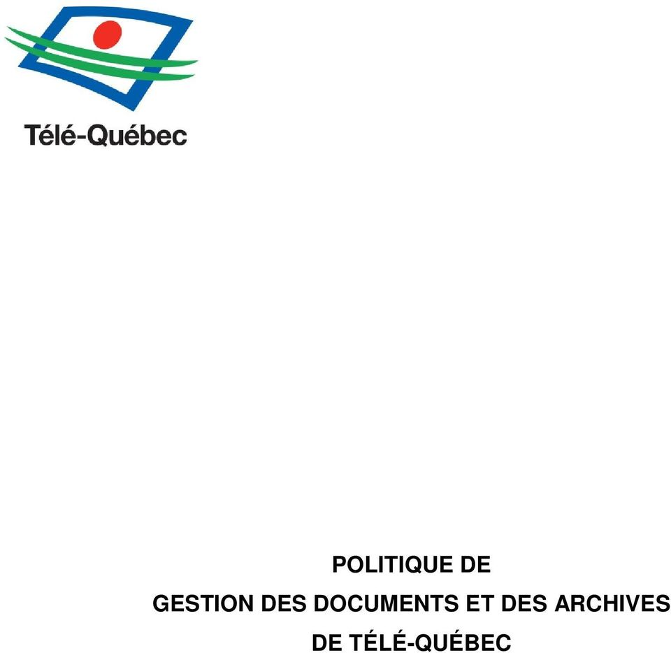 DOCUMENTS ET DES