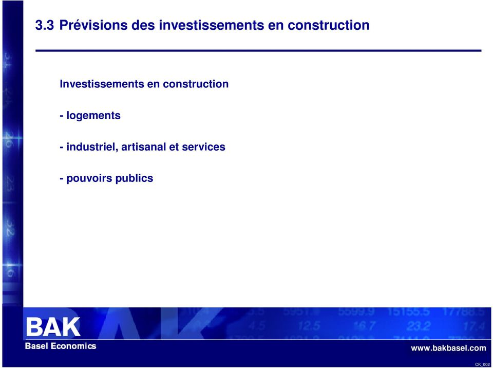 construction - logements -