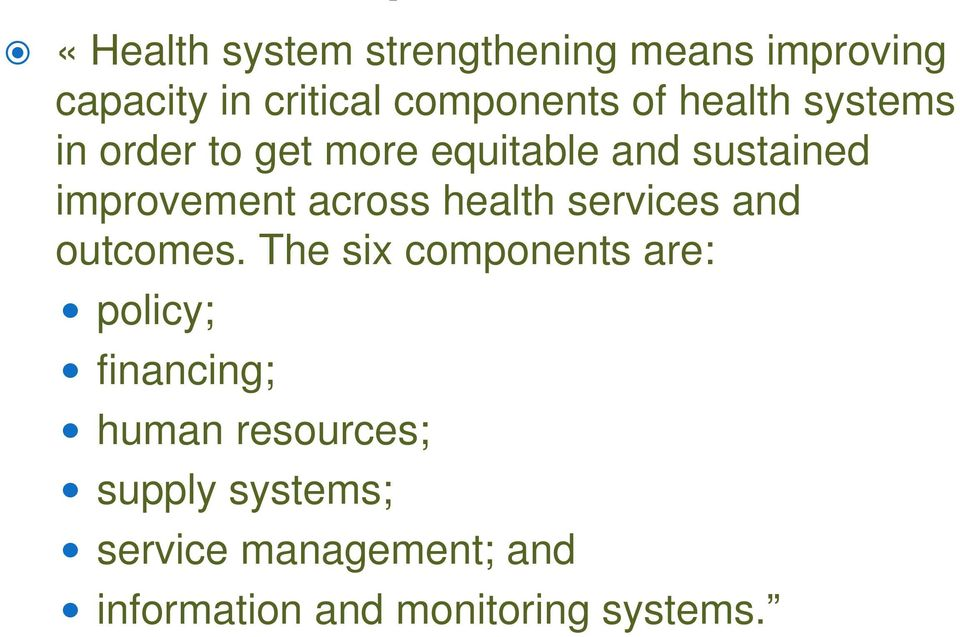 health services and outcomes.