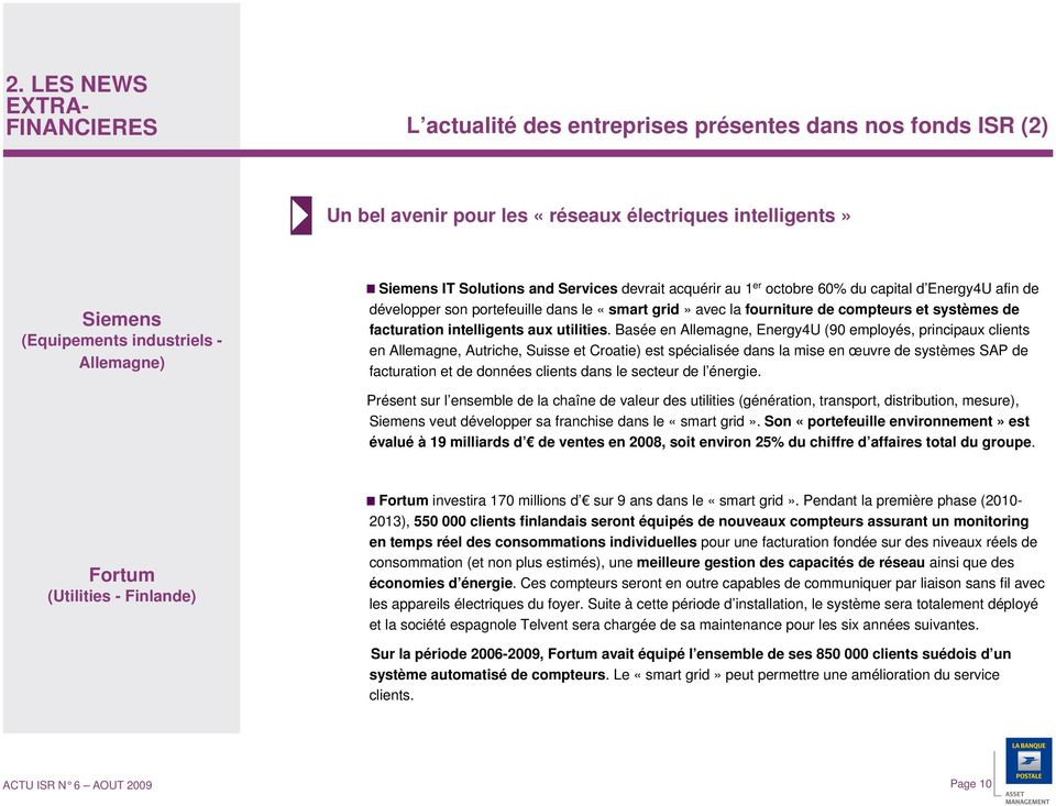 facturation intelligents aux utilities.