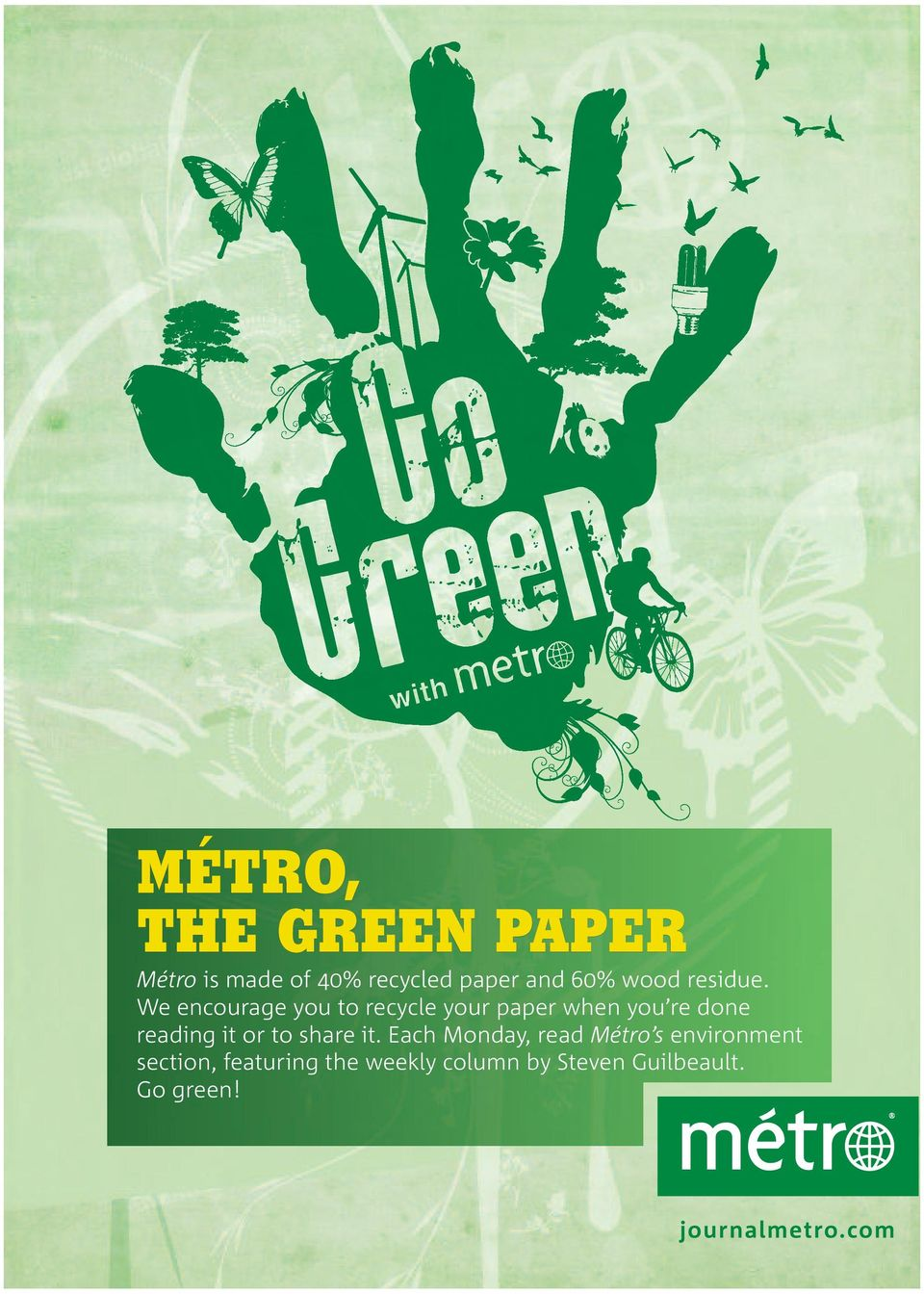 We encourage you to recycle your paper when you re done reading it