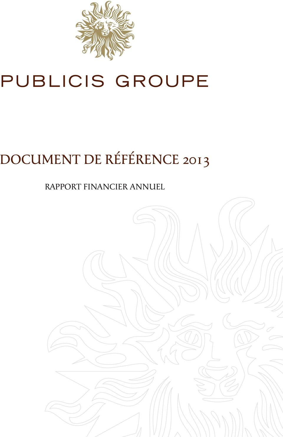 2013 RAPPORT