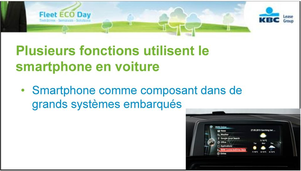 voiture Smartphone comme