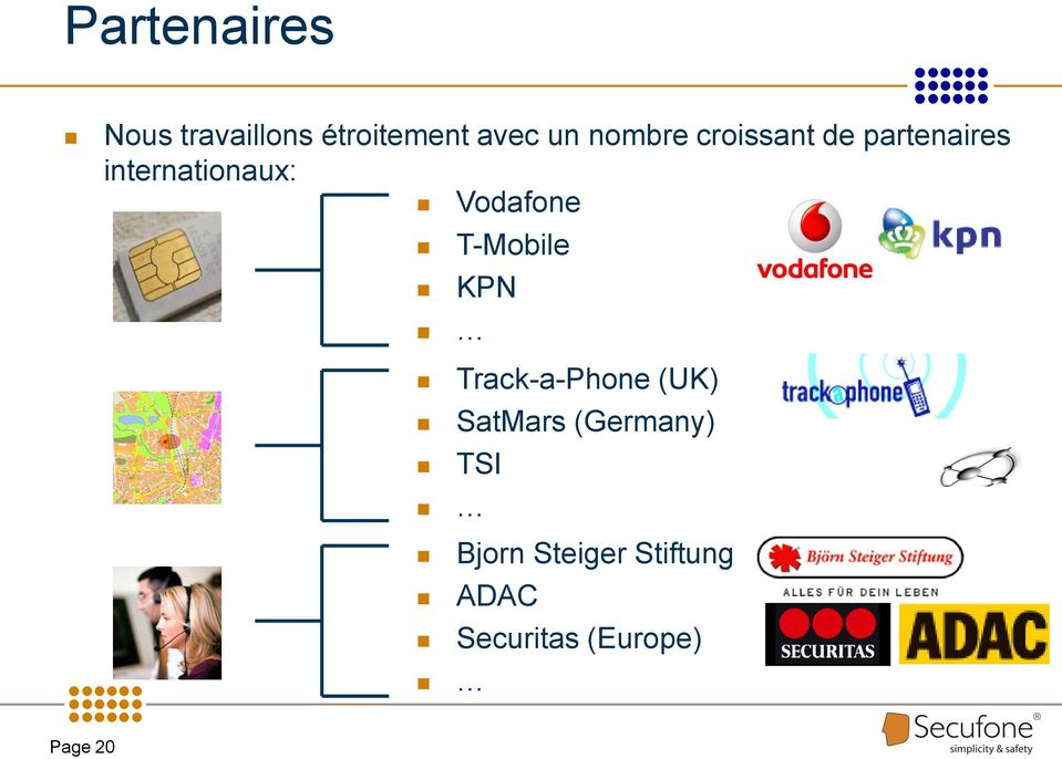 Vodafone T-Mobile KPN Track-a-Phone (UK) SatMars
