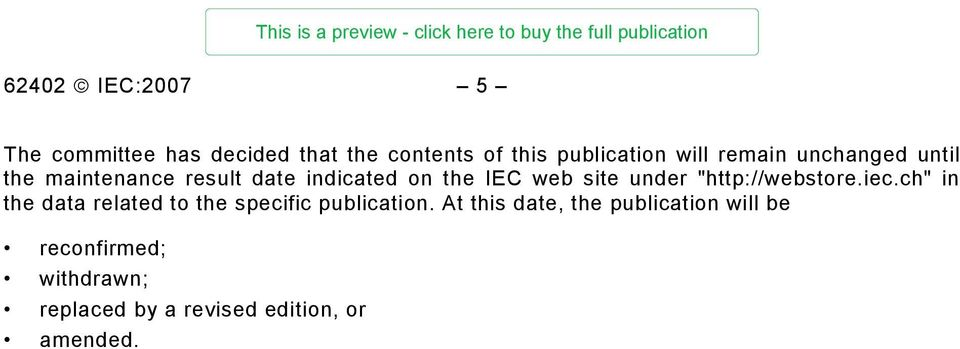 """http://webstore.iec.ch"" in the data related to the specific publication."