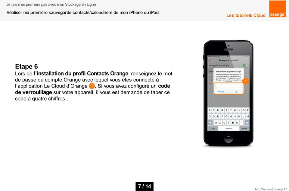 application Le Cloud d Orange.
