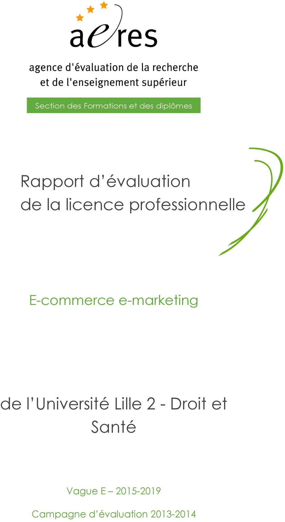 E-commerce e-marketing de l Université Lille 2 -