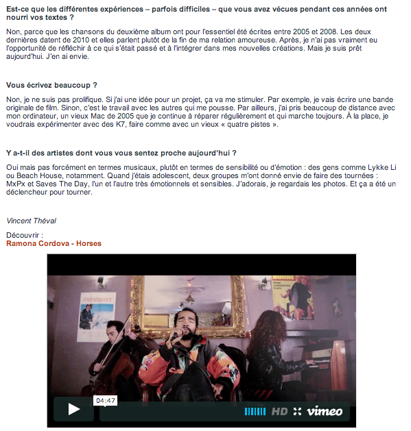 NATIONAL / WEB / INTERVIEW + SESSION FILMÉE [2/2] Riffx- 4/12/2013
