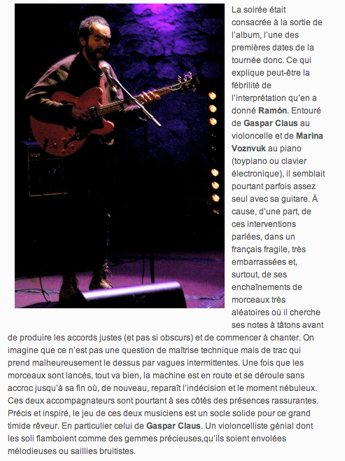 NATIONAL / WEB / LIVE REPORT [1/3] Indie Rock Mag (IRM)