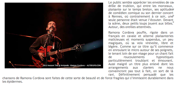 NATIONAL / WEB / LIVE REPORT [2/2] Alter1fo - 23/12/2013 http://alter1fo.