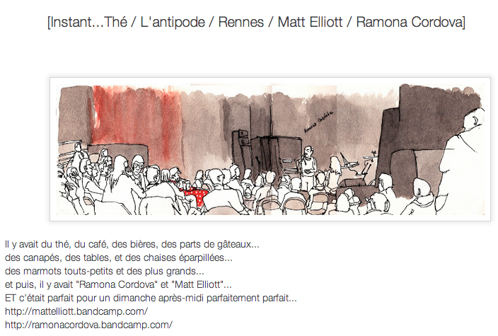 LOCAL (Rennes) / WEB / LIVE REPORT + ILLUSTRATION [A quand la TelepOrtatIon, Bon sang.