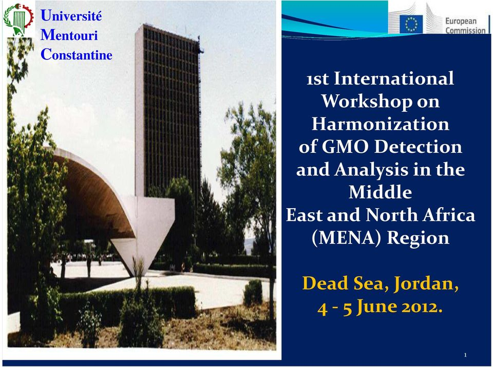 Detection and Analysis in the Middle East and