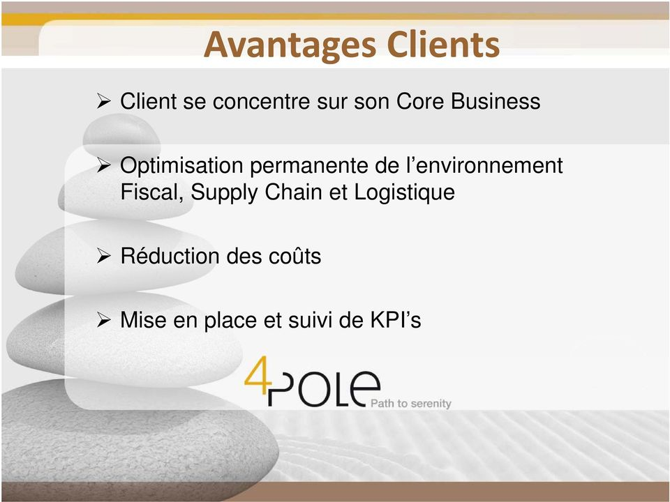 environnement Fiscal, Supply Chain et