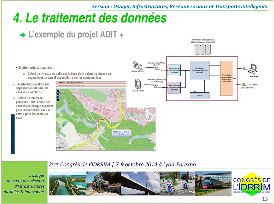 : Usager, Infrastructures,