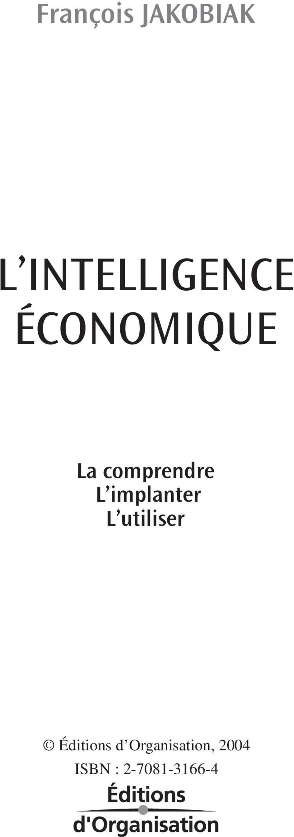 comprendre L implanter L
