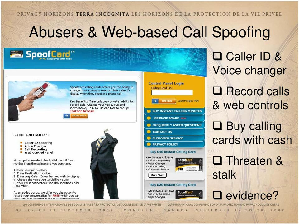 PRIVACY COMMISS Caller ID & Voice changer Record calls &