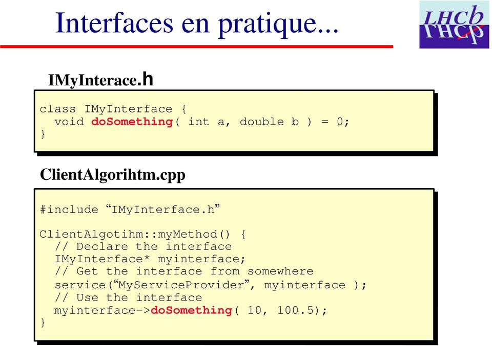 cpp #include IMyInterface.