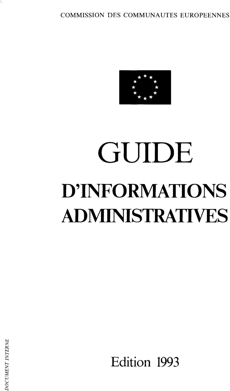 GUIDE D'INFORMATIONS