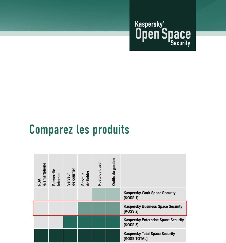 Work Space Security [KOSS 1] Kaspersky Business Space Security [KOSS 2]