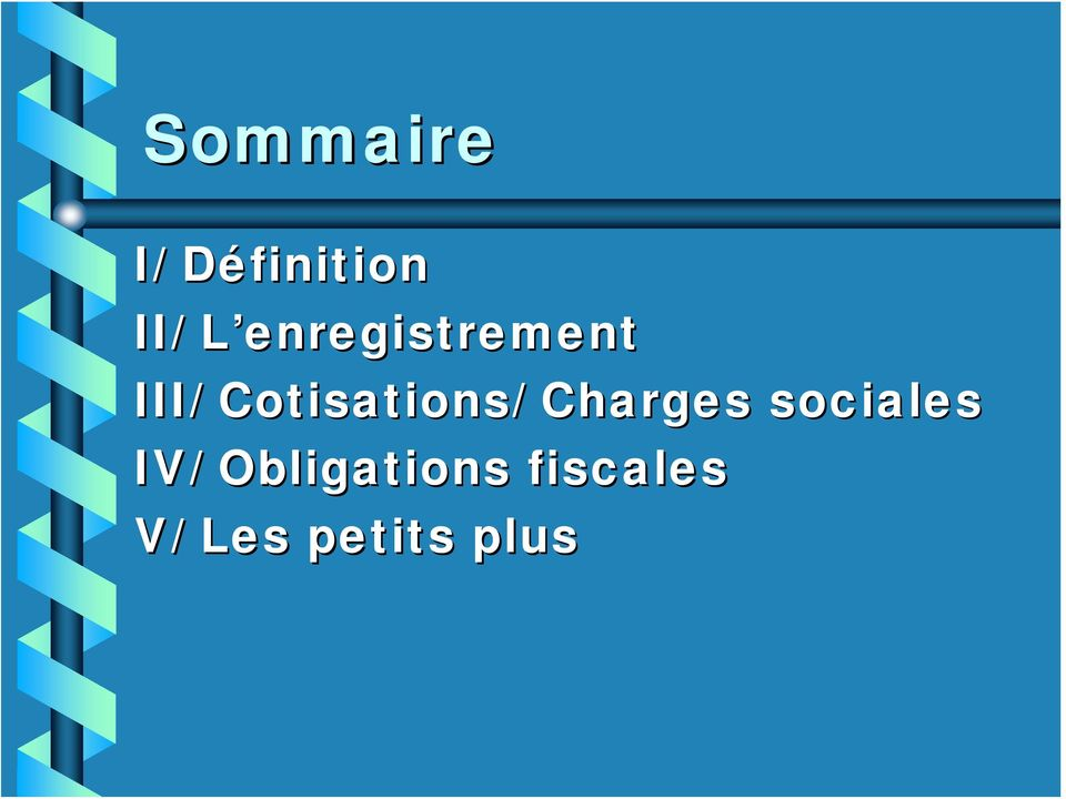 Cotisations/ Charges sociales