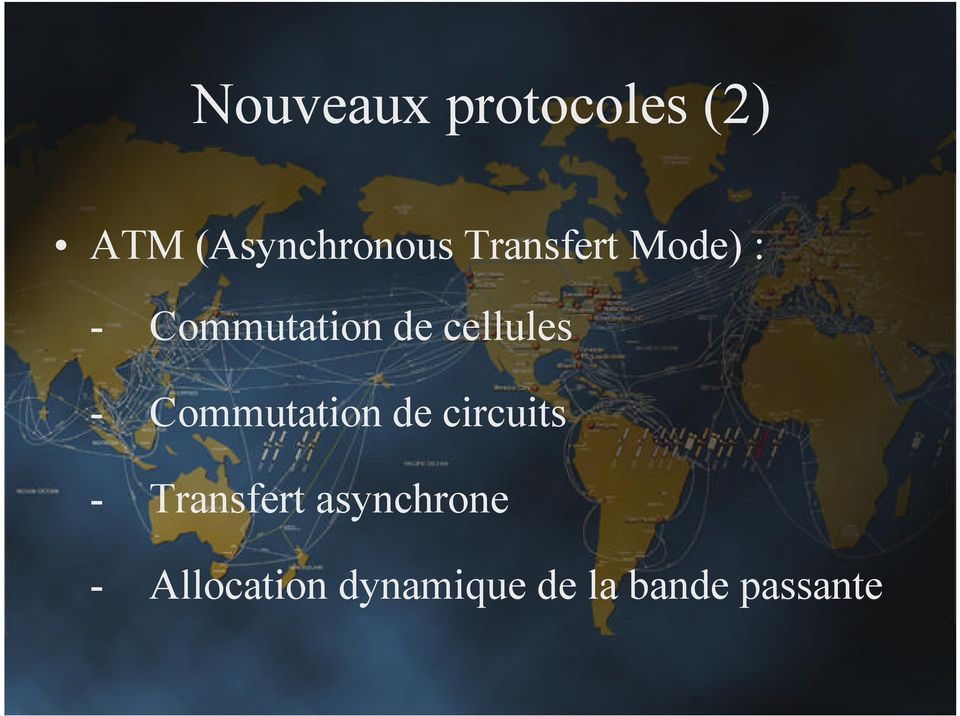 - Commutation de circuits - Transfert