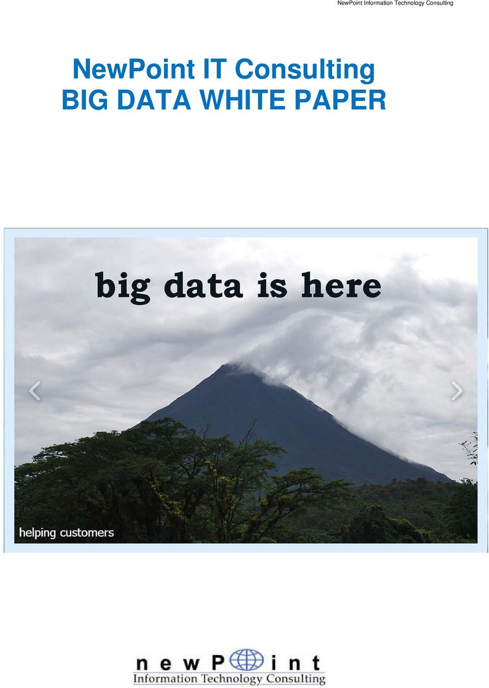 WHITE PAPER NewPoint