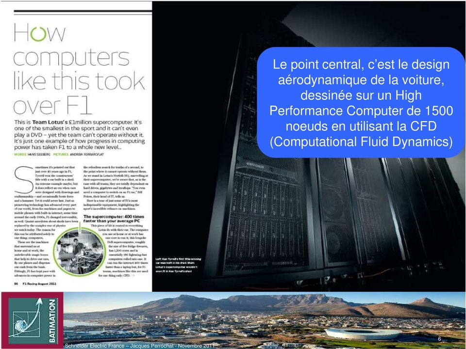 un High Performance Computer de 1500