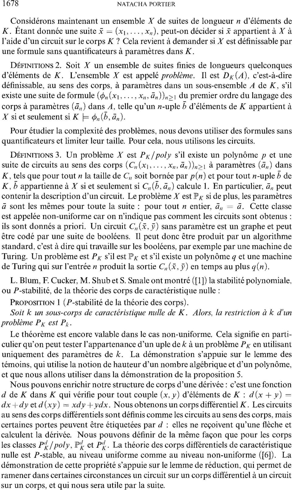 DIFINITIONS 2. Soit X un ensemble de suites finies de longueurs quelconques d'elements de K. L'ensemble X est appele problem.