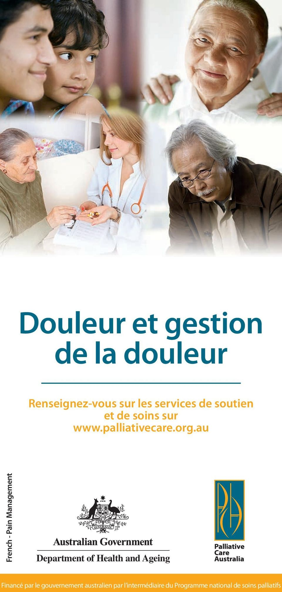 au French - Pain Management Department of Health and Ageing Financé