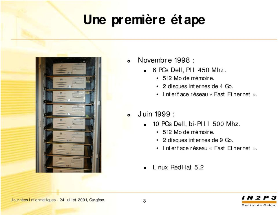 Interface réseau «Fast Ethernet».
