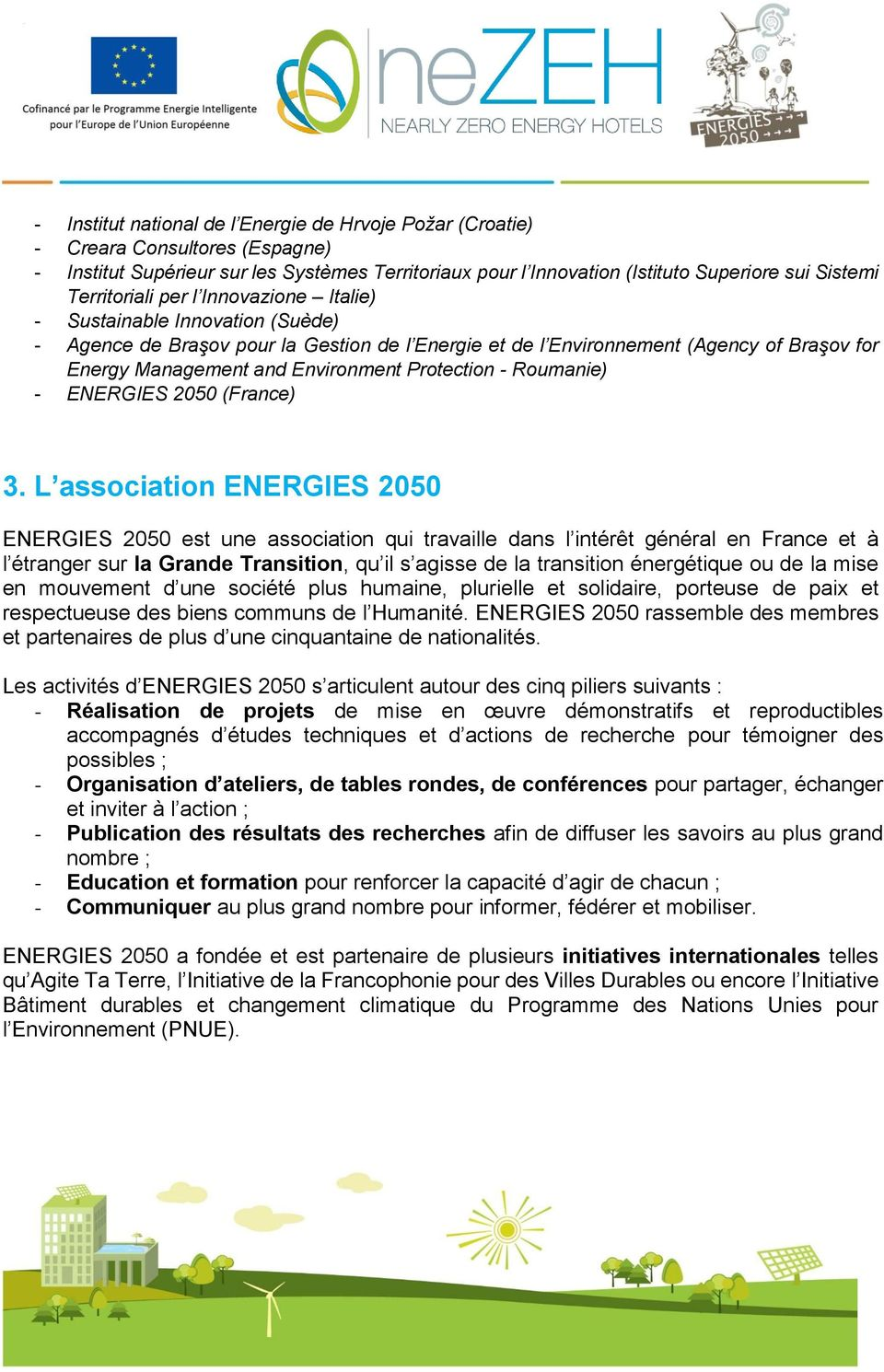 Protection - Roumanie) - ENERGIES 2050 (France) 3.