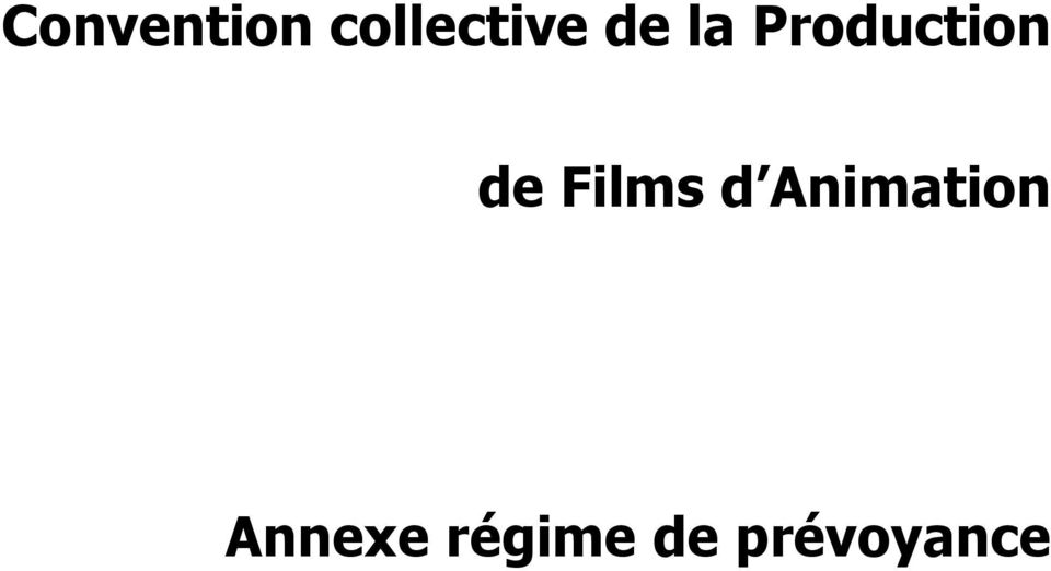 Films d Animation