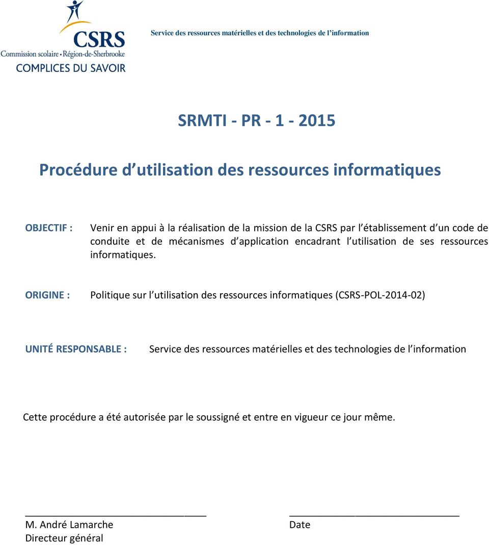 ressurces infrmatiques.
