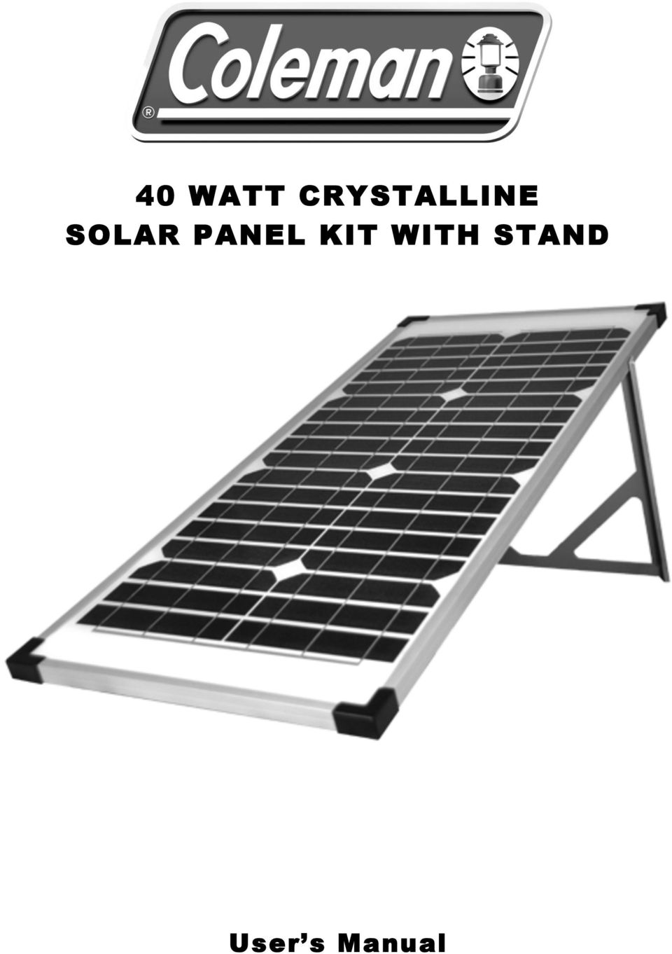 how to make a solar panel stand