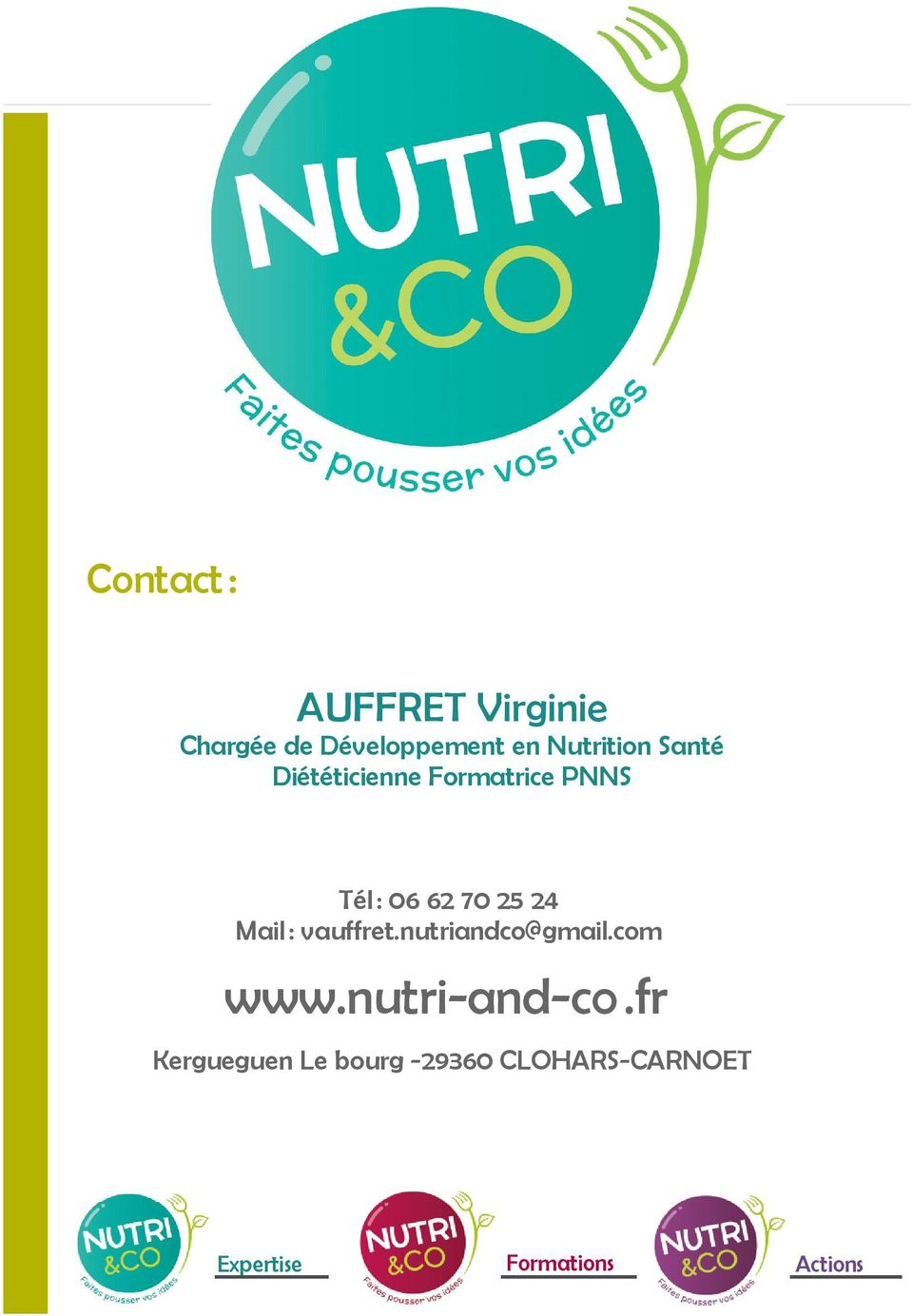 25 24 Mail : vauffret.nutriandco@gmail.com www.nutri-and-co.