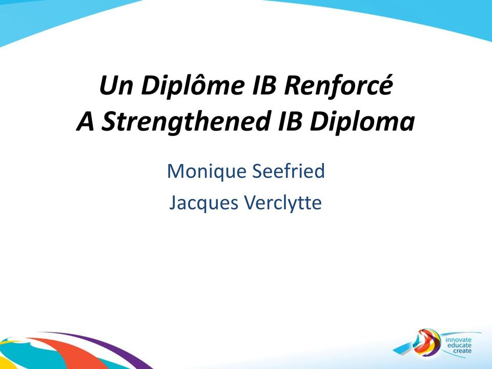 Strengthened IB