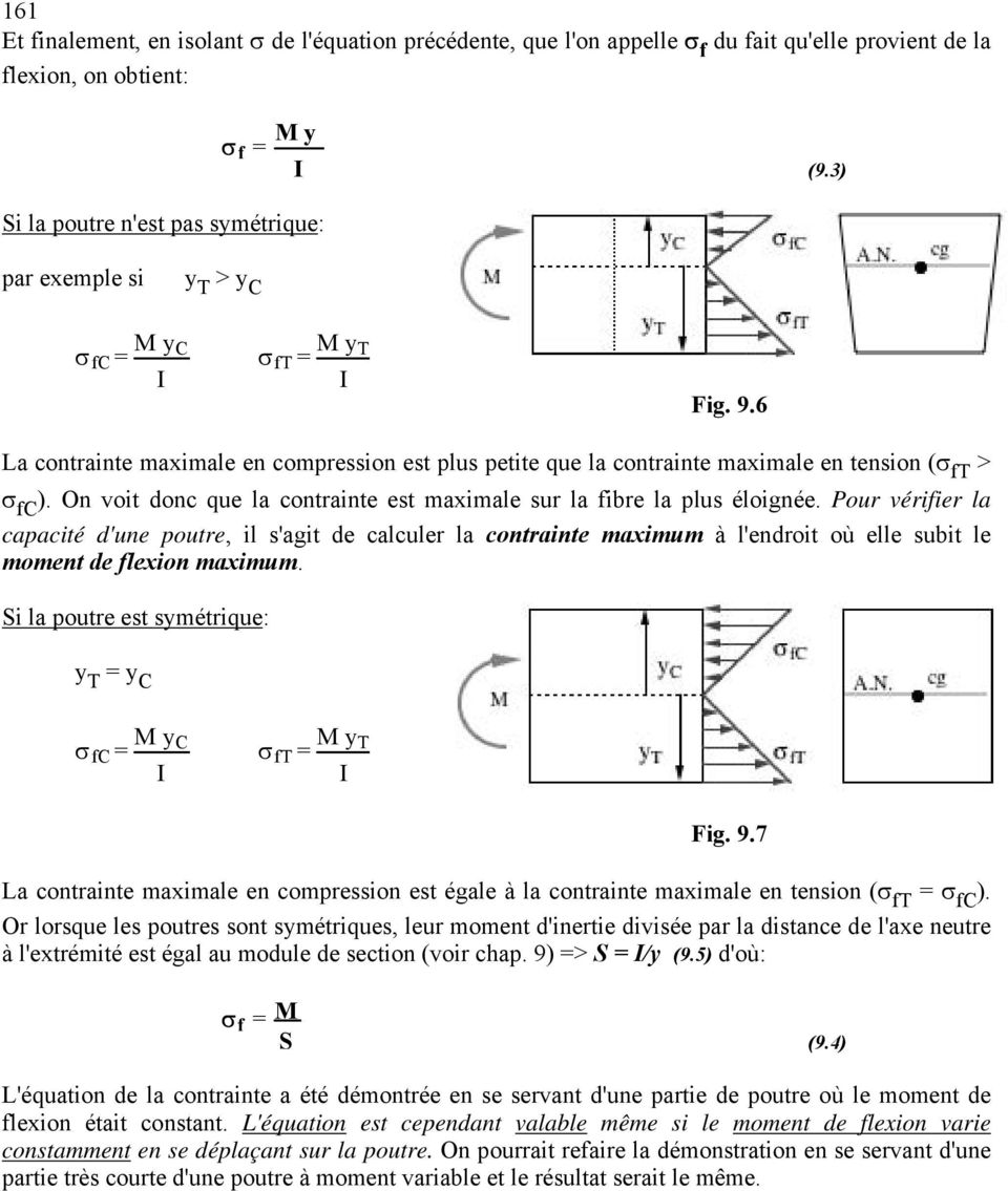 calcul fibre neutre pliage pdf