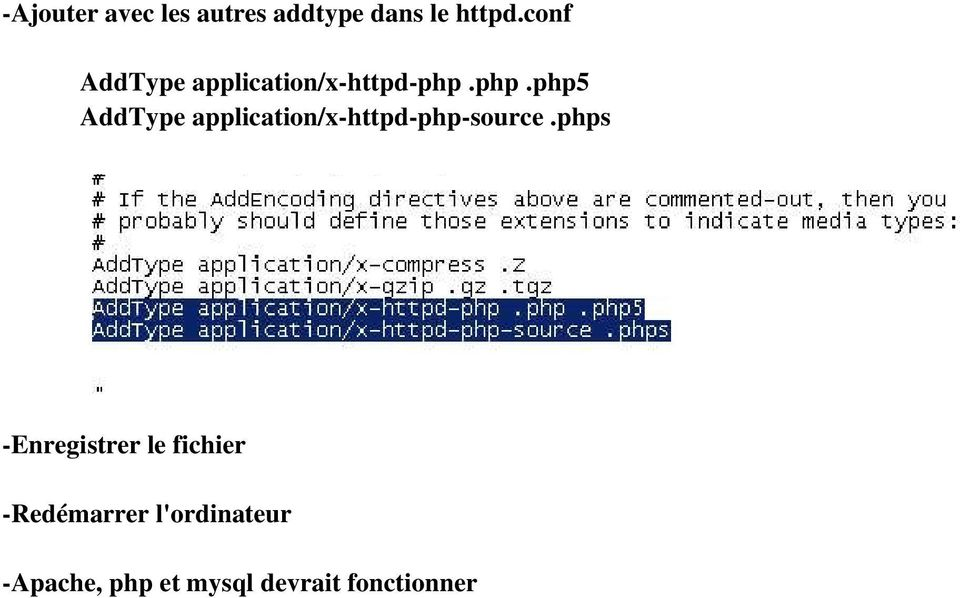 php.php5 AddType application/x-httpd-php-source.