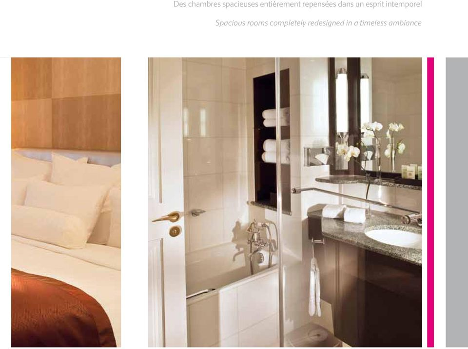 esprit intemporel Spacious rooms