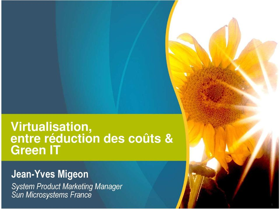 Migeon System Product Marketing