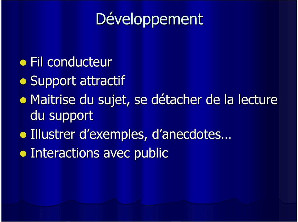 de la lecture du support Illustrer d